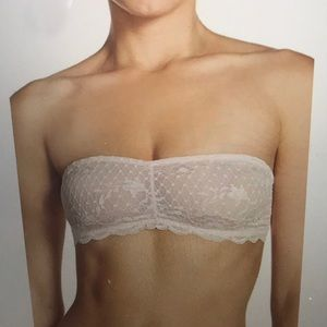 FREE PEOPLE INTIMATELY LACE BANDEAU BRA